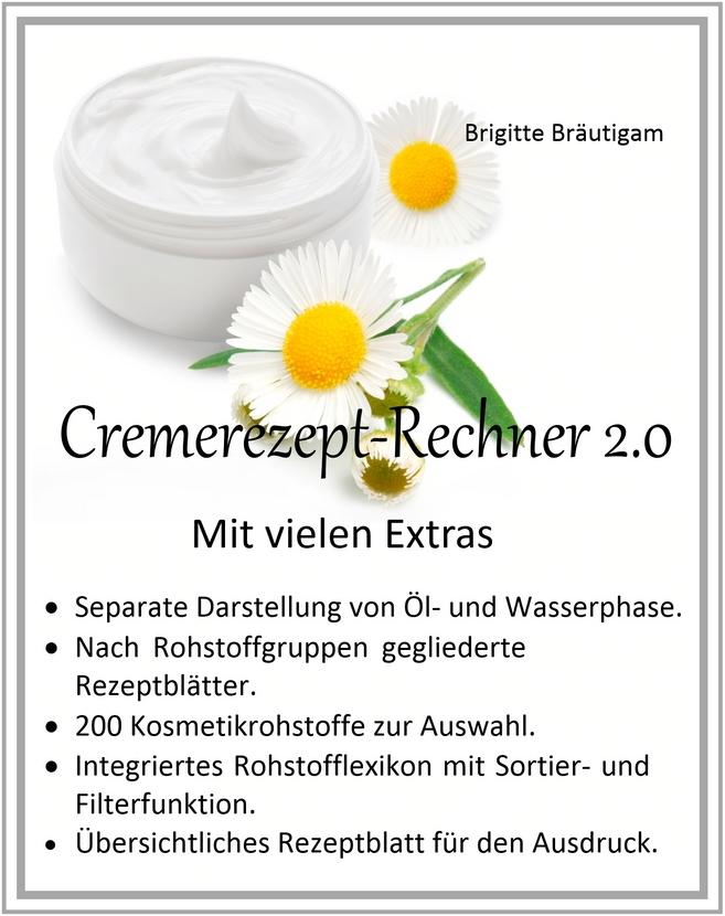 Cremerezept-Rechner 2.0