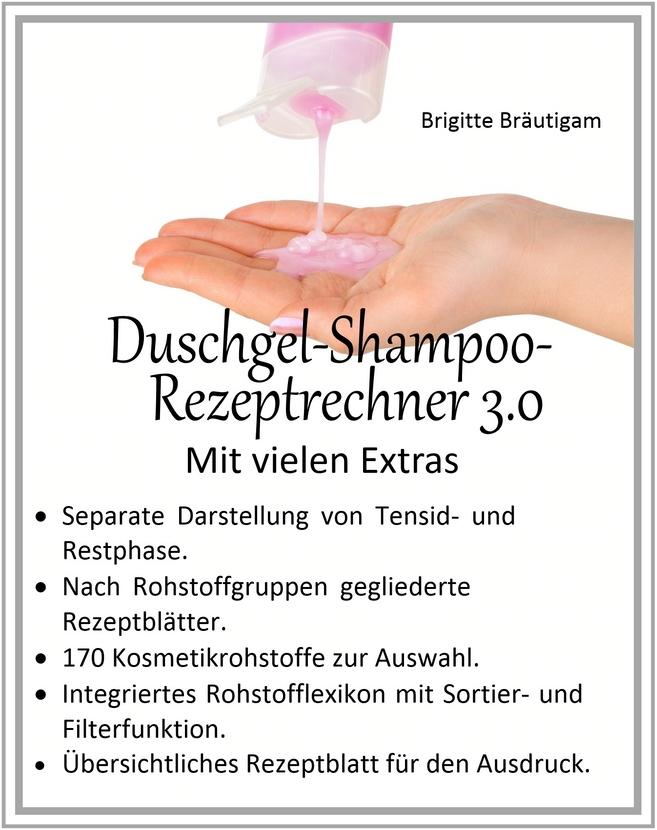 Duschgel-Shampoo-Rezeptrechner 3.0